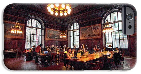 IPhone 6 Case featuring the photograph Dewitt Wallace Periodical Room by Jessica Jenney