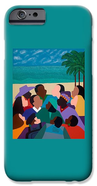iPhone 6 Case - Diversity In Cannes by Synthia SAINT JAMES