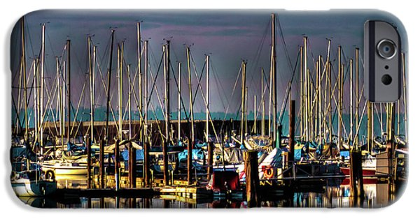 Docked Sailboats IPhone 6 Case by David Patterson