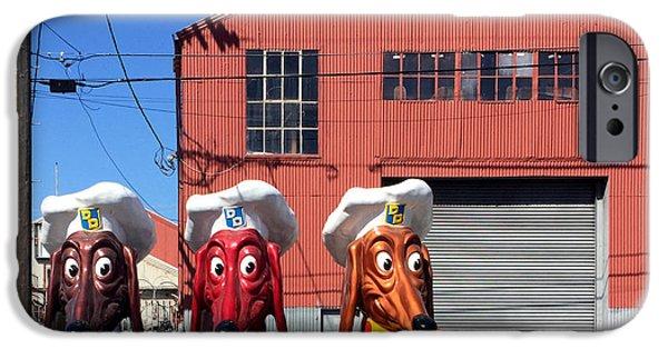 iPhone 6 Case - Doggie Diner Heads by Julie Gebhardt