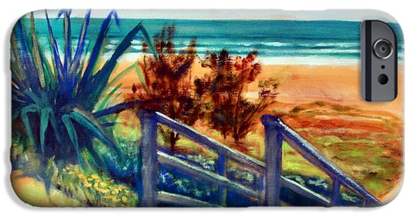 Down The Stairs To The Beach IPhone 6 Case by Winsome Gunning