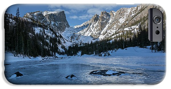 IPhone 6 Case featuring the photograph Dream Lake Morning by Aaron Spong
