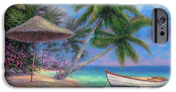 Pacific Ocean iPhone 6 Case - Drift Away by Chuck Pinson