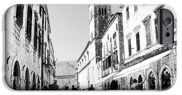 #dubrovnik #b&w #edit IPhone 6 Case by Alan Khalfin