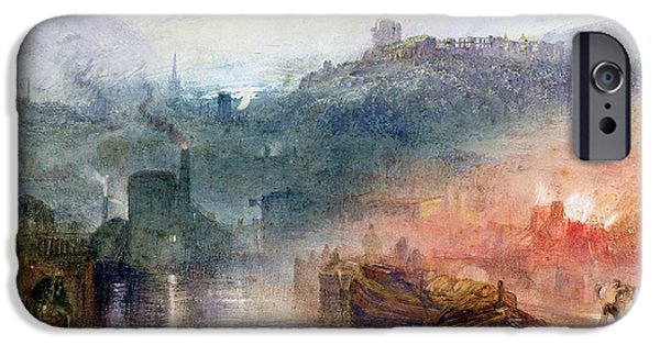 Industrial Paintings iPhone Cases - Dudley iPhone Case by Joseph Mallord William Turner