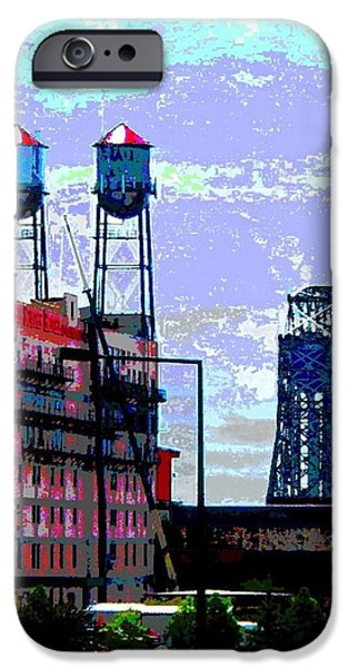 Duluth iPhone Cases - Duluth Skyline iPhone Case by Rashelle Brown