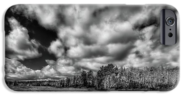 IPhone 6 Case featuring the photograph Dusting Of Snow On The River by David Patterson