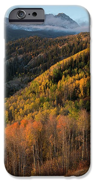 IPhone 6 Case featuring the photograph Eagle's Nest Peak Vertical by Aaron Spong
