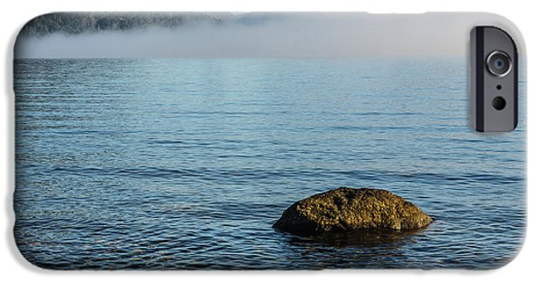 IPhone 6 Case featuring the photograph Early Morning At Lake St Clair by Werner Padarin