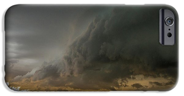 Nebraskasc iPhone 6 Case - Eastern Nebraska Moderate Risk Chase Day Part 2 004 by NebraskaSC