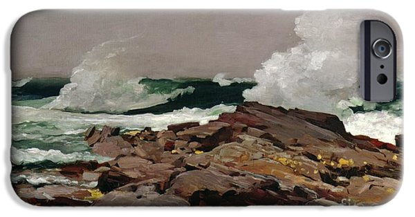 Best Sellers -  - Sea iPhone Cases - Eastern Point iPhone Case by Winslow Homer