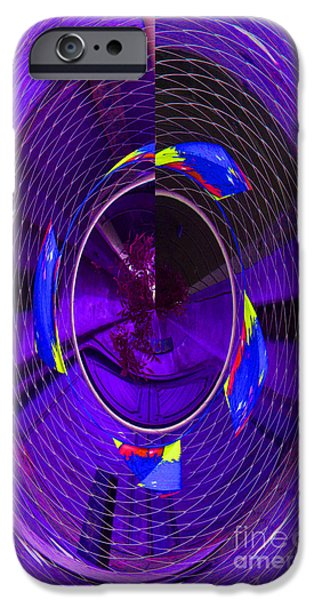 IPhone 6 Case featuring the photograph Electric Blue by Nareeta Martin