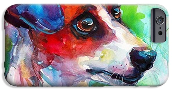 iPhone 6 Case - Emotional Jack Russell Terrier by Svetlana Novikova