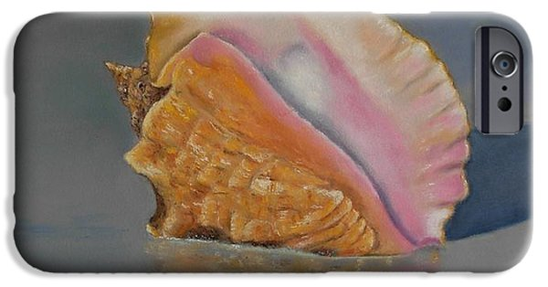 Marine Pastels iPhone Cases - en memoria de Alfonsina Storni iPhone Case by Ceci Watson