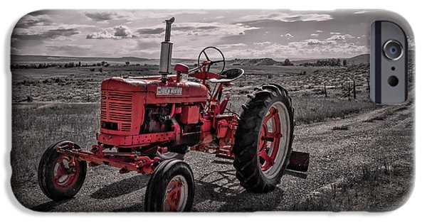 Old Tractor Parts iPhone 6 Cases   Fine Art America