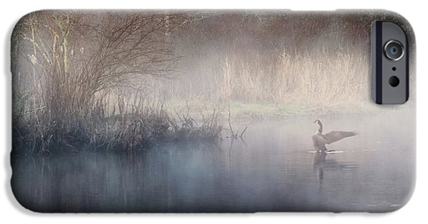 IPhone 6 Case featuring the photograph Ethereal Goose by Bill Wakeley