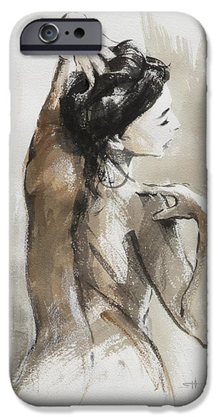 Nude Figurative iPhone 6 Case - Expression by Steve Henderson