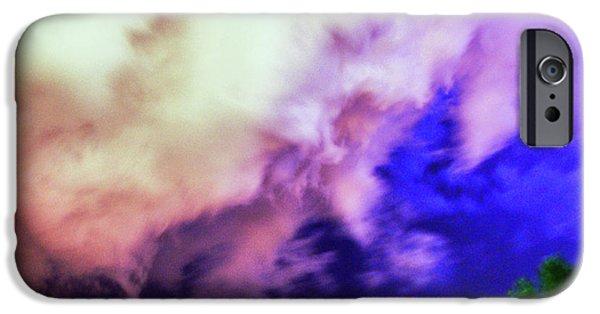 Nebraskasc iPhone 6 Case - Faces In The Clouds 002 by NebraskaSC