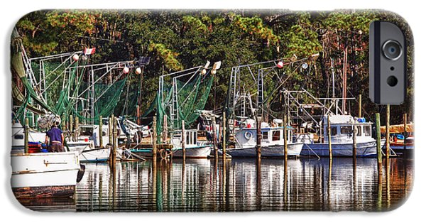 Micdesigns iPhone Cases - Fairhope Fleet iPhone Case by Michael Thomas