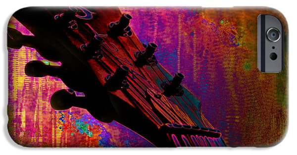 Business Paintings iPhone Cases - Fantasia iPhone Case by Christopher Gaston