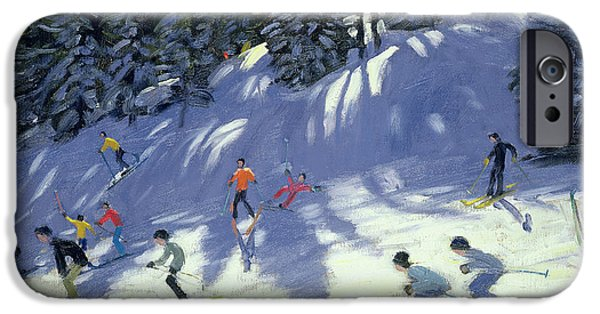 Austrian iPhone Cases - Fast Run iPhone Case by Andrew Macara