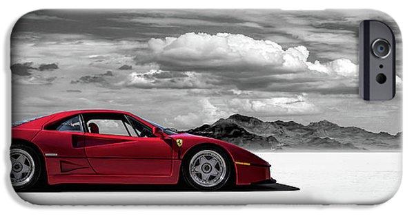 Red iPhone 6 Case - Ferrari F40 by Douglas Pittman