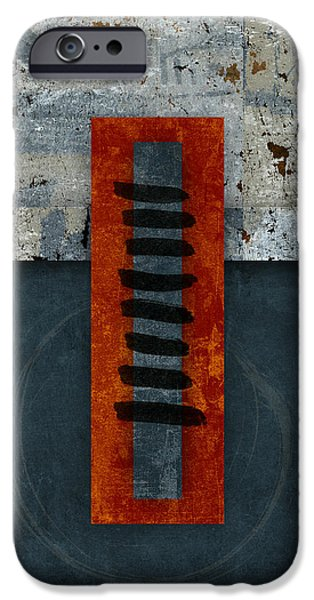 Fiery Red And Indigo One Of Two IPhone 6 Case