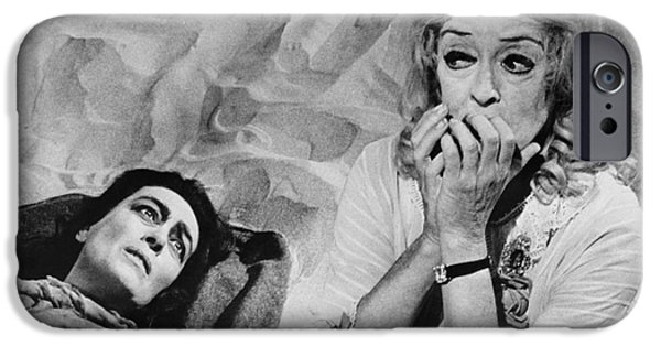 Aging iPhone Cases - Film: Baby Jane, 1962 iPhone Case by Granger