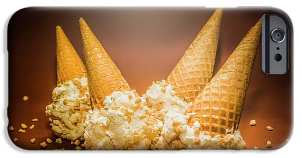 Fine Art Ice Cream Cone Spill IPhone 6 Case