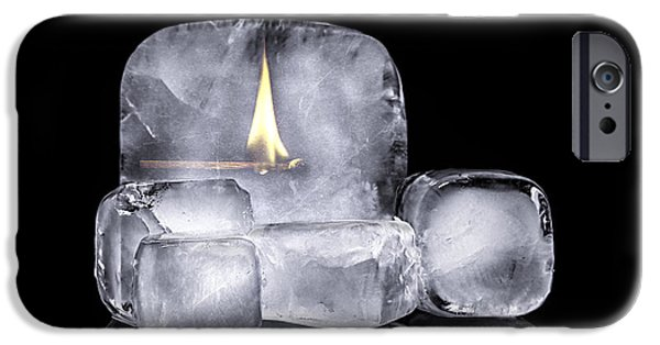 Illusion iPhone 6 Case - Fire And Ice by Tom Mc Nemar