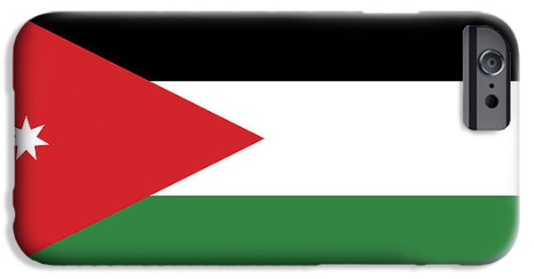 flag of jordan iphone 6 cases fine art america