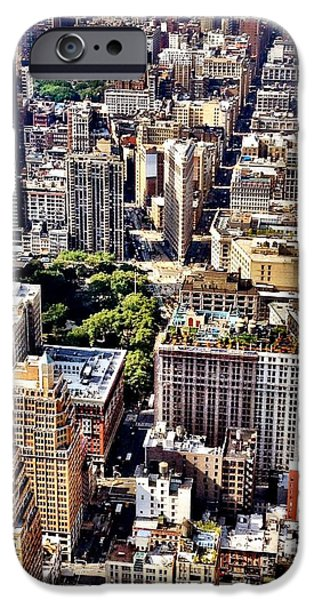 Flatiron Building From Above - New York City IPhone 6 Case
