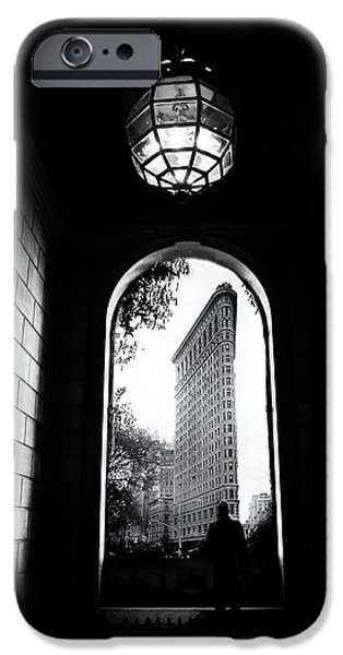 IPhone 6 Case featuring the photograph Flatiron Point Of View by Jessica Jenney
