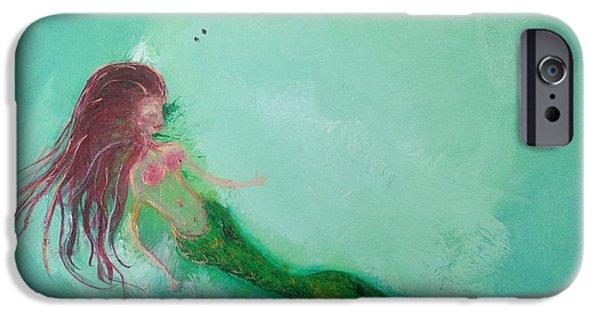 iPhone 6 Case - Floaty Mermaid by Roxy Rich