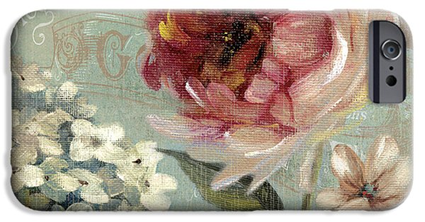 Red Rose iPhone 6 Case - Flowering Romance 1 by Carol Robinson
