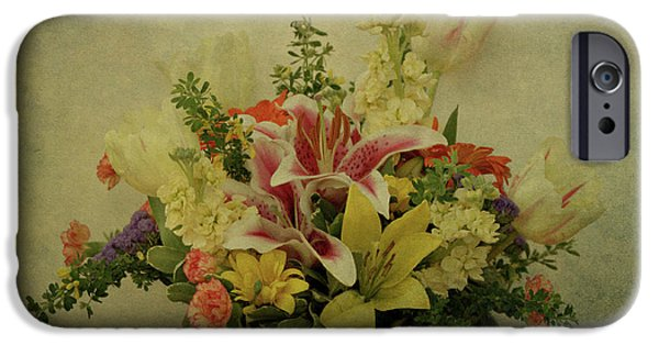 Indiana Springs iPhone Cases - Flowers iPhone Case by Sandy Keeton