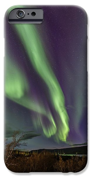 Flowing Aurora IPhone 6 Case by Hitendra SINKAR