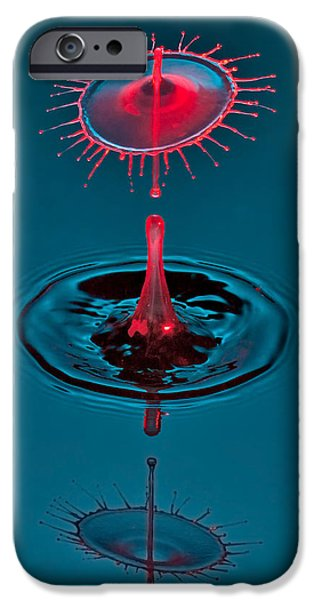 Coronet iPhone Cases - Fluid Parasol iPhone Case by Susan Candelario