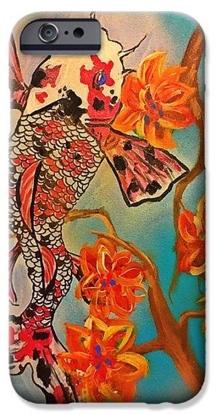 Focus Flower  IPhone 6 Case by Miriam Moran
