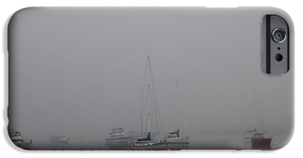 Waiting Out The Fog IPhone 6 Case by David Chandler