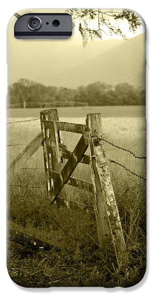 Landscape iPhone 6 Case - Forgotten Fields by Holly Kempe