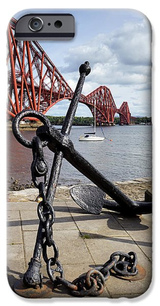 IPhone 6 Case featuring the photograph Forth Bridge by Jeremy Lavender Photography