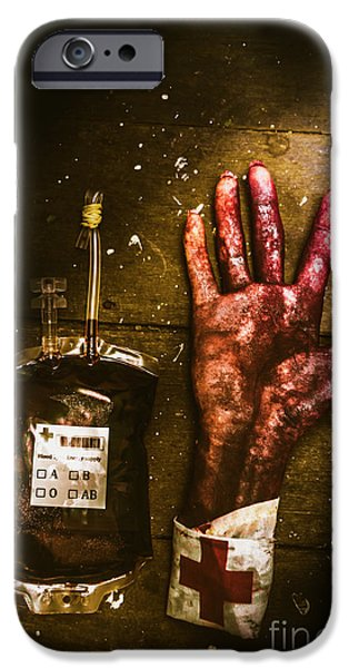 Donation iPhone 6 Case - Frankenstein Transplant Experiment by Jorgo Photography - Wall Art Gallery