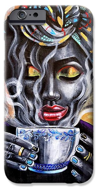 iPhone 6 Case - Fresh Brewed by Artist RiA