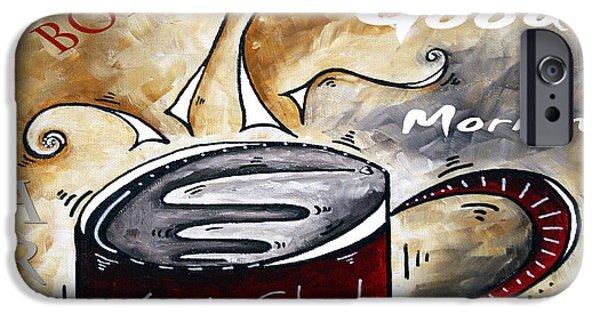 Buying Online Digital iPhone Cases - Fresh Start Original Painting MADART iPhone Case by Megan Duncanson
