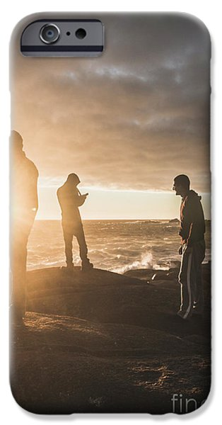 IPhone 6 Case featuring the photograph Friends On Sunset by Jorgo Photography - Wall Art Gallery