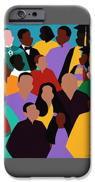 iPhone 6 Case - From Our Founding To Our Future by Synthia SAINT JAMES