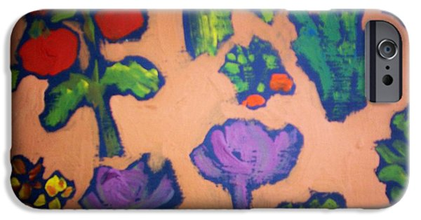 IPhone 6 Case featuring the painting From The Earth by Winsome Gunning