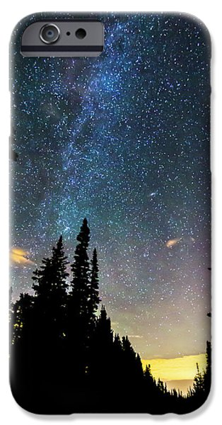 IPhone 6 Case featuring the photograph  Galaxy Rising by James BO Insogna