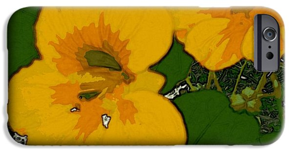 Garden Love IPhone 6 Case by Winsome Gunning